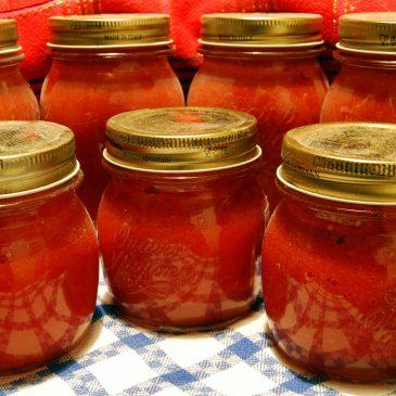 Per la salsa: passata o pelati?